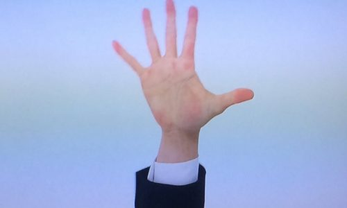 中居正広さんの手 イメージ